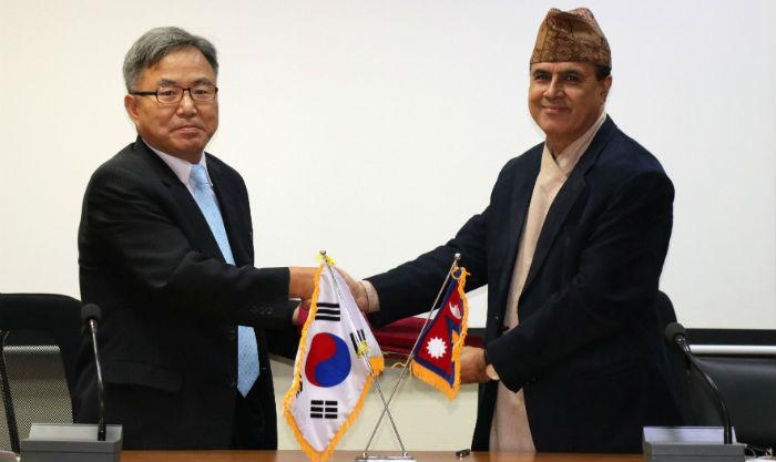 कोरिया सरकारद्वारा शिक्षाको गुणस्तर अभिवृद्धि गर्न नेपाललाई रु ५५ करोड अनुदान