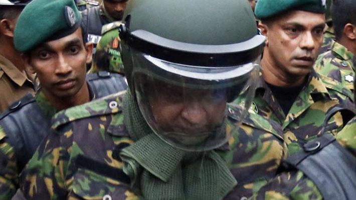 गोली प्रकरणमा श्रीलङ्काका तेल मन्त्री पक्राऊ