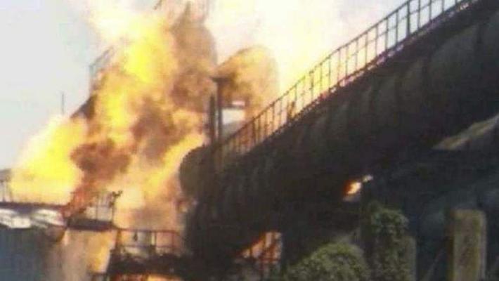 स्टील उद्योगमा विष्फोट, नौ जनाको मृत्यु
