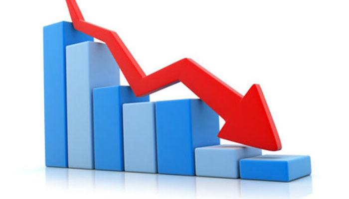 शेयर बजारमा दोहोरो अङ्कको गिरावट