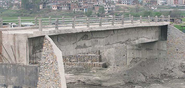 भलाम खोलामा पक्की पुल