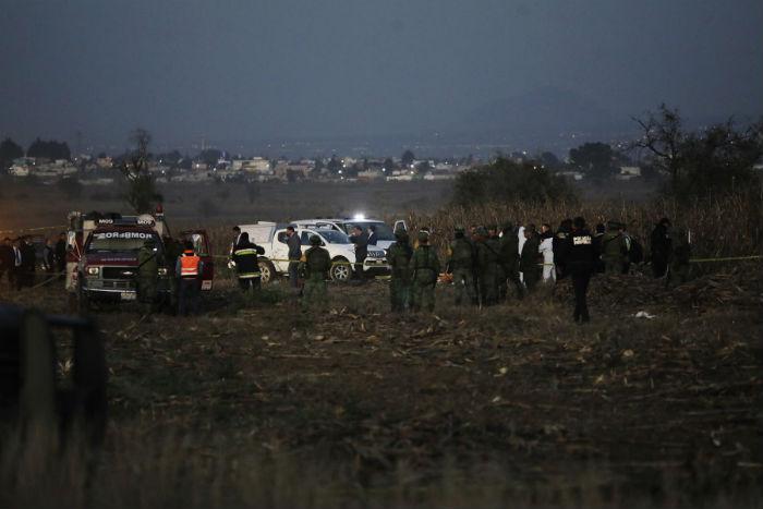हेलिकप्टर दुर्घटनामा मेक्सिकोका गभर्नर, सिनेटर मारिए