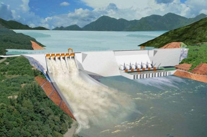 मध्यमोदी जलविद्युत् आयोजनाको काम पुनः सञ्चालन