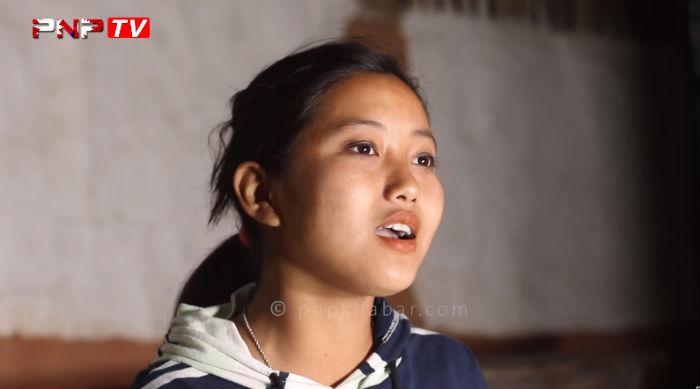 मोरङमा भेटिइन मेलिना राई जस्तैै  गीत गाउने बिम्बु; जादुमय स्वरभित्र यस्तो दर्दनाक पिडा