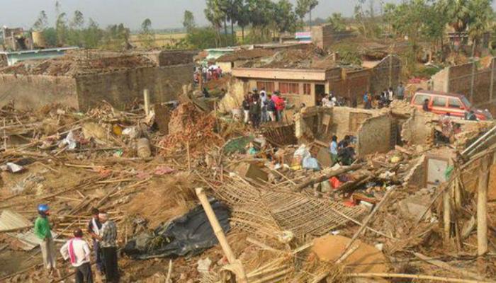क्षति प्रारम्भिक विवरण, दुई हजार घर क्षतिग्रस्त