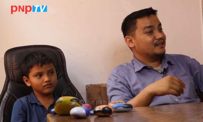 दुनियाँलाई चकित पार्दै नेपालकै कान्छो बिजनेसम्यान, यसो भन्छन उनका बाबु (भिडियो)