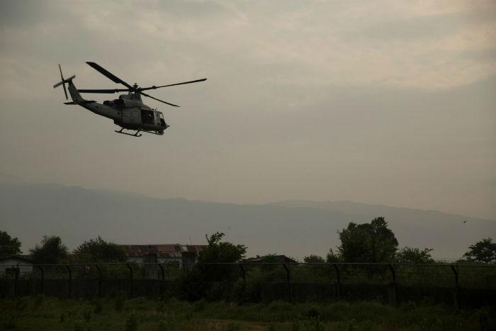 बाईस वर्षीया गर्भवतीको हेलिकप्टरमार्फत उद्धार