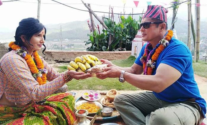 नायिका शुभेच्छा थापाद्वारा निर्देशित 'लक्ष्मी रानी'को छायांकन सम्पन्न