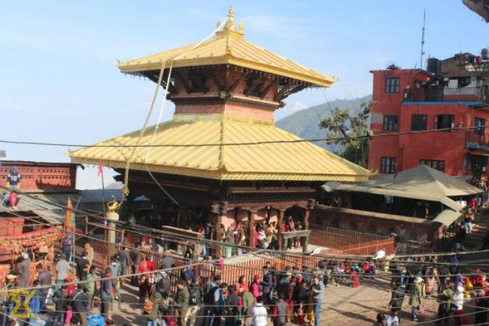 मनकामना मन्दिरमा भारतीय भक्तजनको भीड