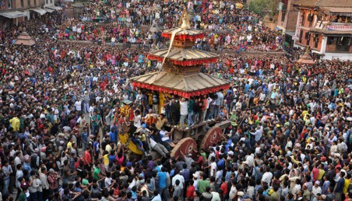 बनेपामा तीन दिनसम्म मनाइने चण्डेश्वरी जात्रा आजदेखि शुरु