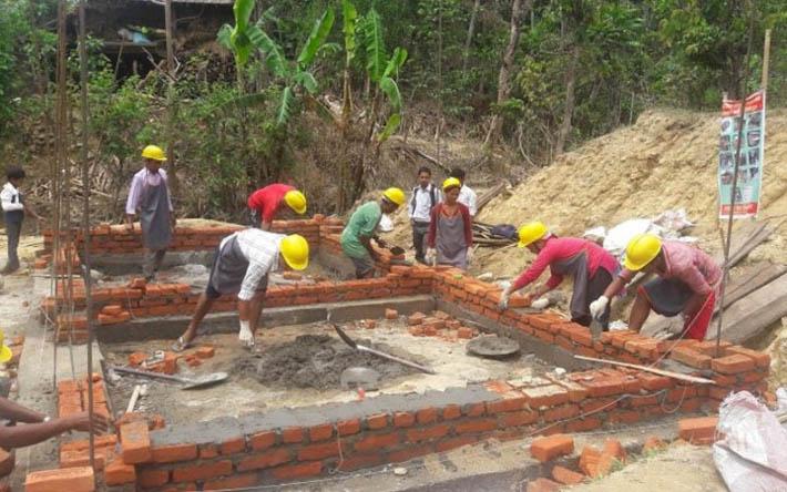 छ हजार घर पुनःनिर्माण