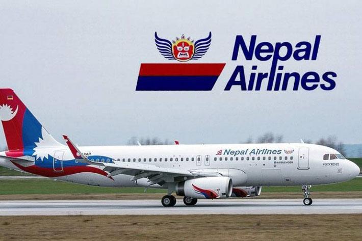 क्यानबेरा चार्टर्ड उडान गर्दै, नेपाल एयरलाइन्स