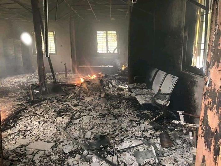 सिन्धुपाल्चोक, नुवाकोट र रौतहटका वडाका कार्यालयमा आगजनी