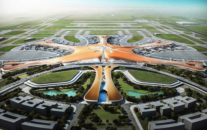 बेइजिङको नयाँ विमानस्थलमा नेपाल पनि
