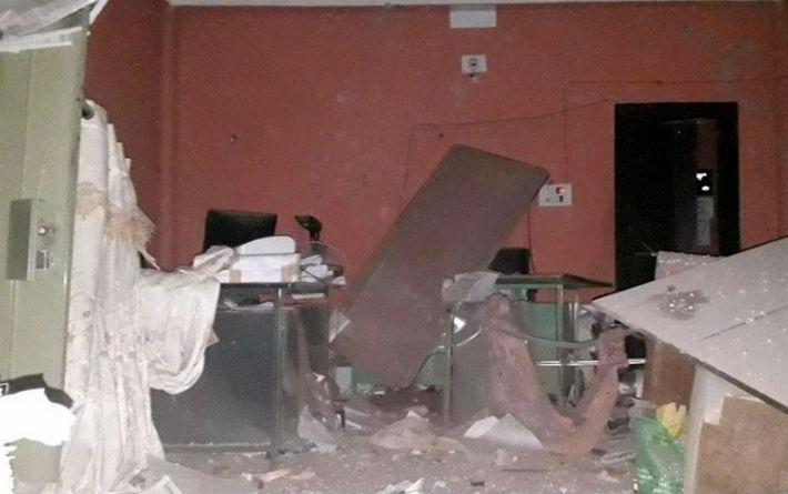 बिर्तामोड नगरपालिकाको संयुक्त वडा कार्यालयमा बम विस्फोट