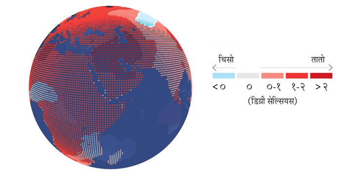 तातिँदै छ पृथ्वी : काठमाडौंको अवस्था के ?