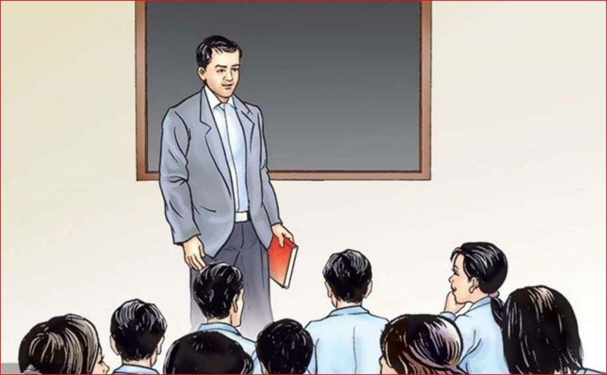 सामुदायिक विद्यालयका शिक्षक घरदैलोमा पठाइँदै