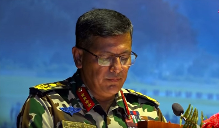 सङ्क्रमणकालका बाँकी अवशेष अन्त्य गर्न सेना बाधक हुुँदैन : प्रधानसेनापति थापा