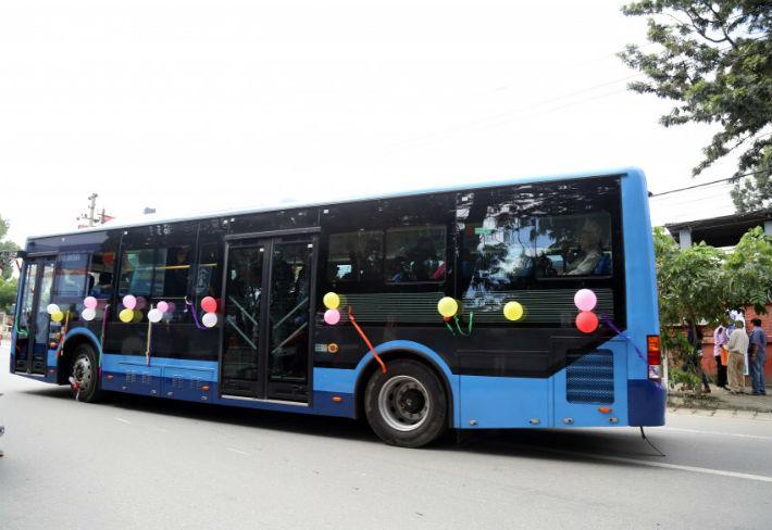 थप २५ विद्युतीय बस खरीद गर्दै सुन्दर यातायात