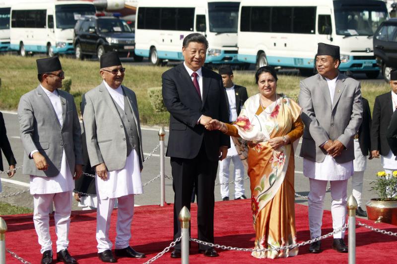 राष्ट्रपति सीको नेपाल भ्रमणपछि चीन 'प्रसन्न'