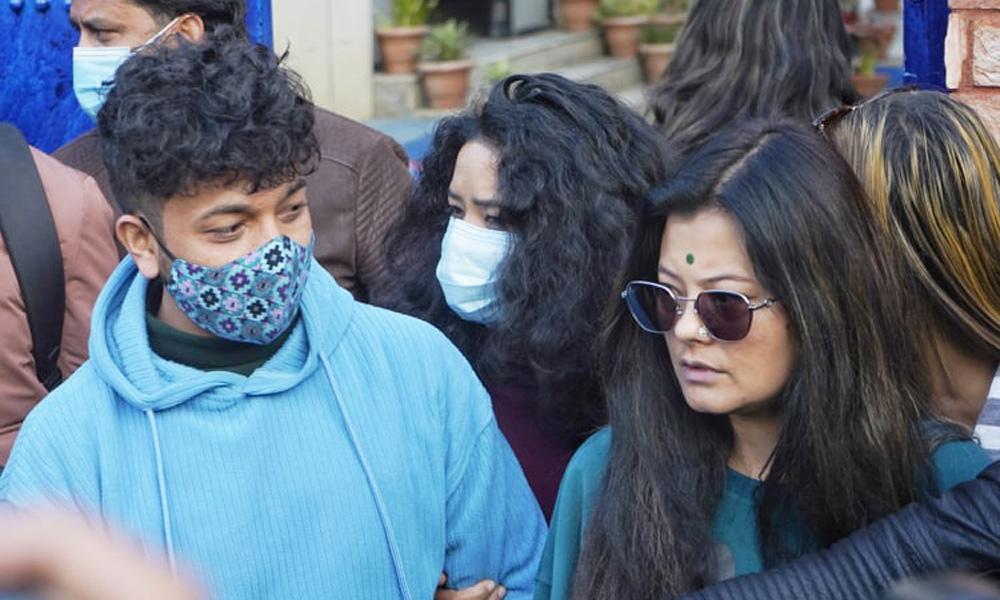 अभिनेत्री सुष्मा र श्वेताकी बहिनीबीच मिलापत्र