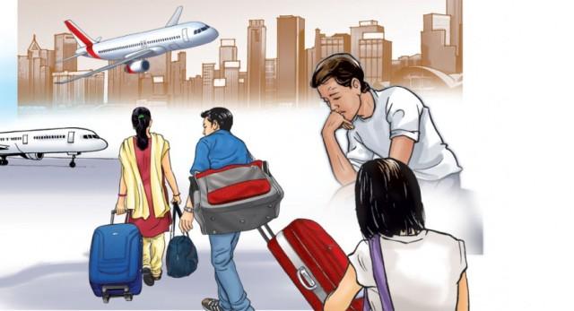 वैदेशिक रोजगारमा जाने व्यक्तिको हकमा विशेष कानुन नहुँदा न श्रीमती, न सम्पत्ति !
