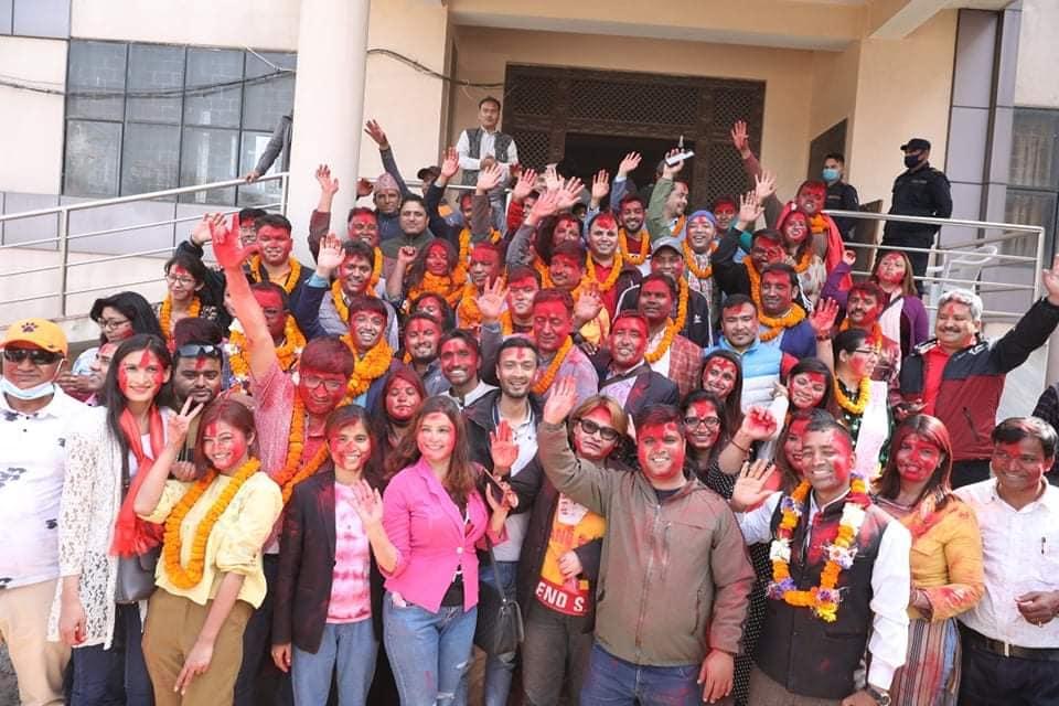 पत्रकार महासंघको चुनावमा विपुल पोख्रेलको प्यानल विजयी