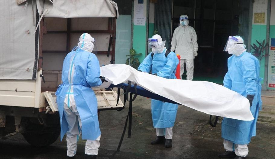 स्वास्थ्य मन्त्रालयले निकाल्यो एकैदिन १३९ काेराेना संक्रमितको मृत्युको तथ्यांक