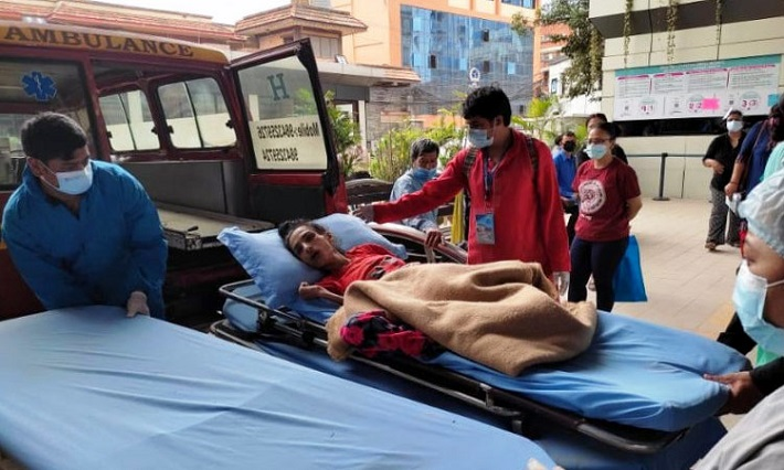 नर्भिक अस्पतालले जिम्मा लियो अभिनेत्री निशा घिमिरेको उपचार खर्च