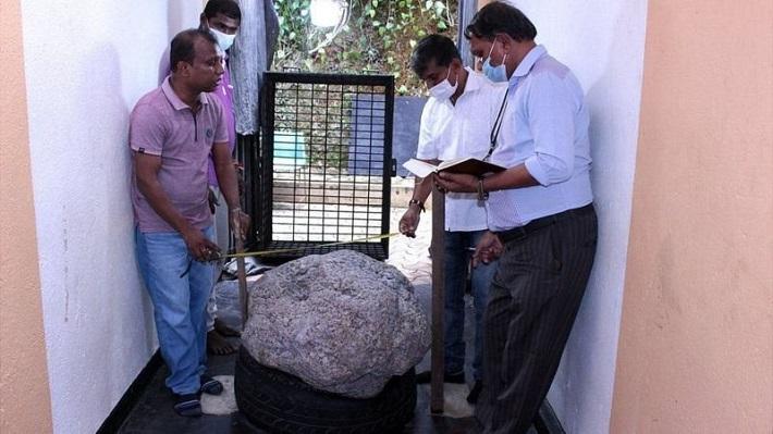 श्रीलंकामा संसारकै ठूलो नीलम भेटियो