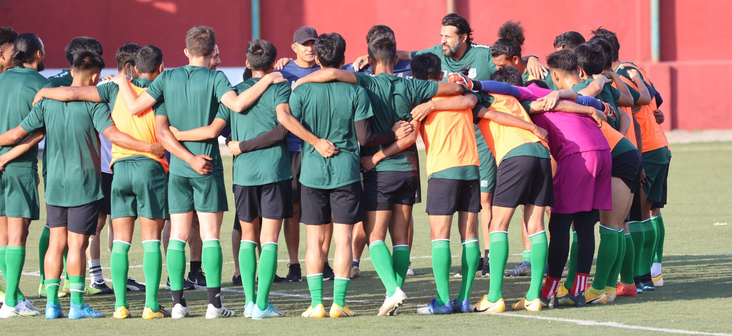 नेपालले आज ओमानसँग मैत्रीपूर्ण फुटबल खेल्दै