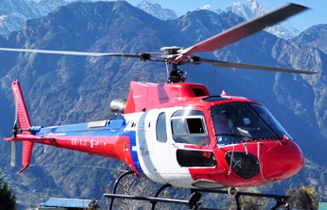 फिस्टेल एयरको हेलिकप्टर सुनसरीमा आकस्मिक अवतरण