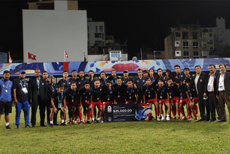नेपाली फुटबल टोली आज स्वदेश फर्किँदै