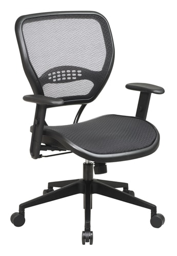 alera elusion series mesh mid back multifunction chair dining chairs set of 4 pnp office black airgrid seat and deluxe task