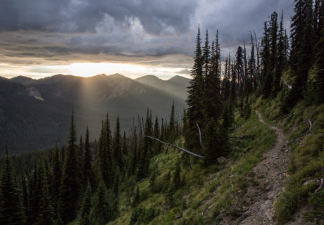 Pacific Northwest Trail in Montana