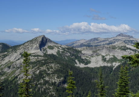The Selkirk Mountains in Idaho