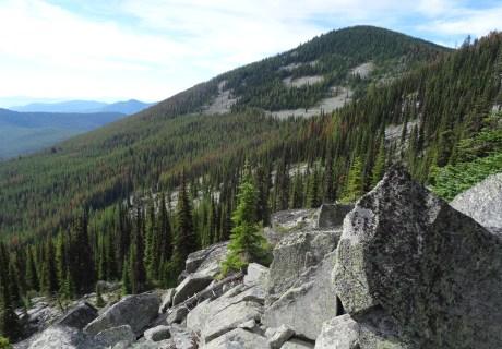 Sherman Pass in the Kettle River Range