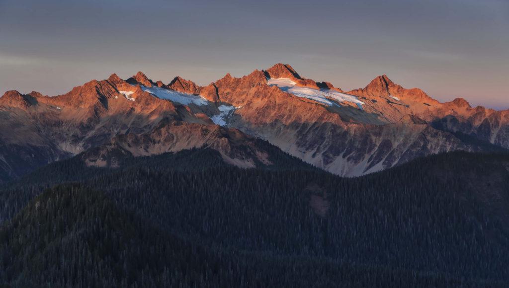 The Twin Sisters Range