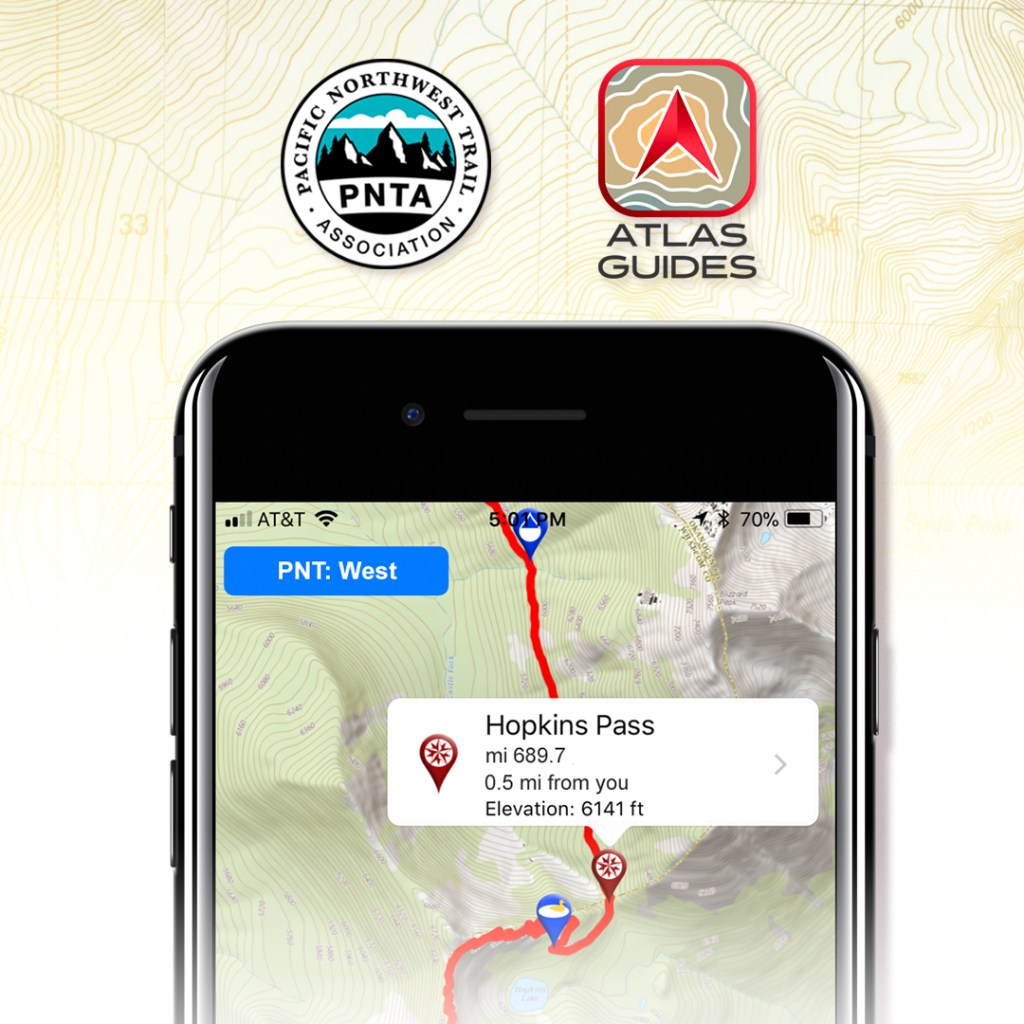 Atlas Guides App for the PNT