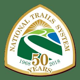 National Trails Anniversary Sticker