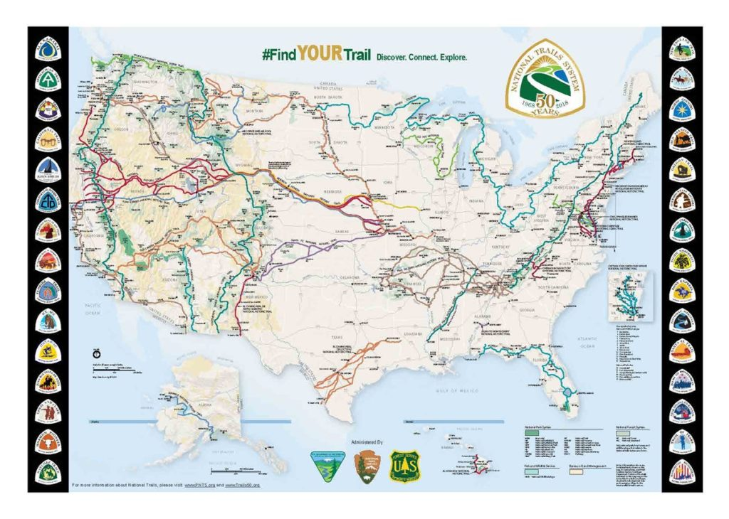 National-Trails-50th-Map