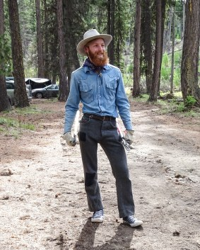 William Yates brings strong trail stewardship and outdoor leadership skills to our team.