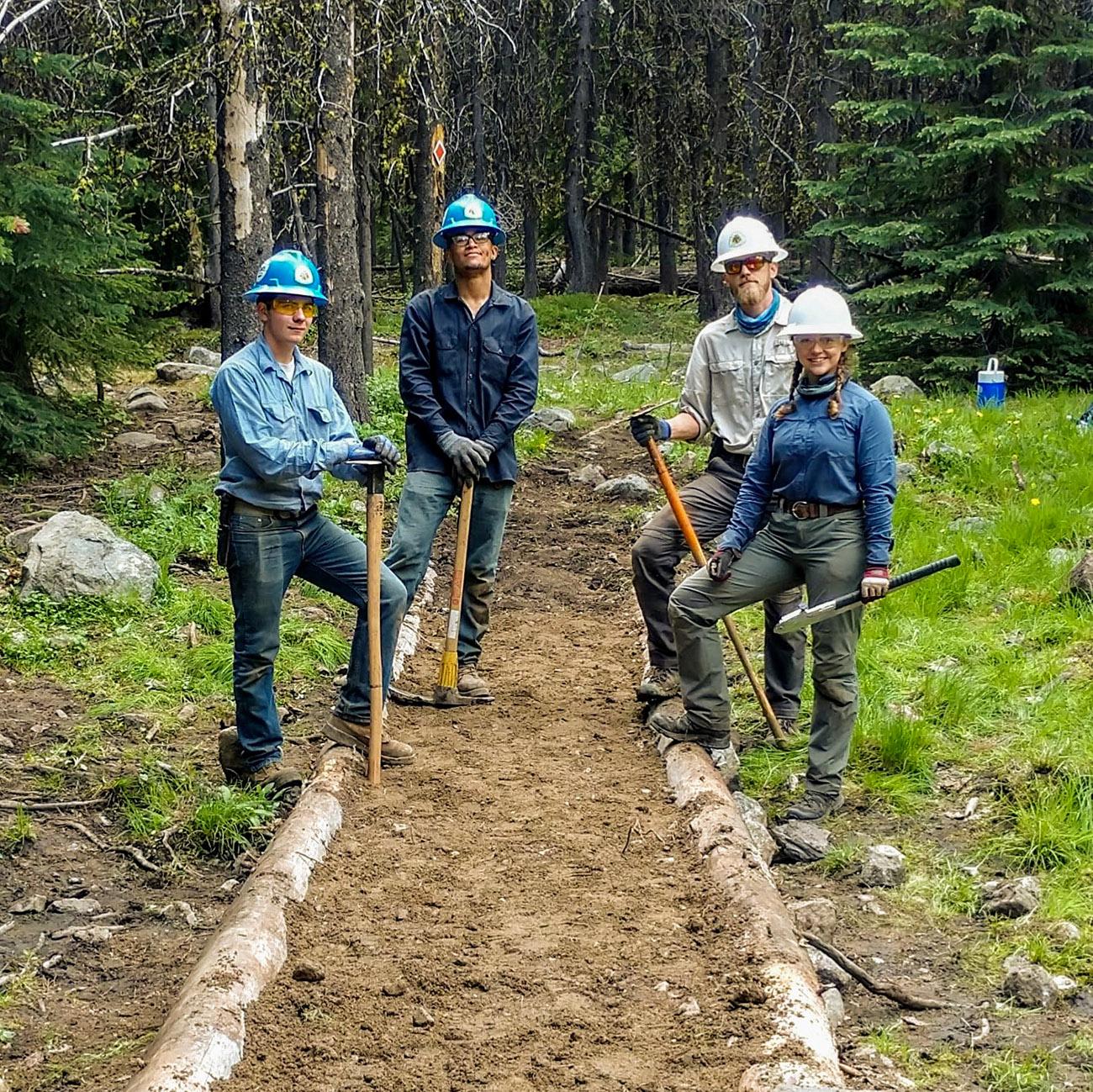 Eastern Pasayten Trail Crew 2019