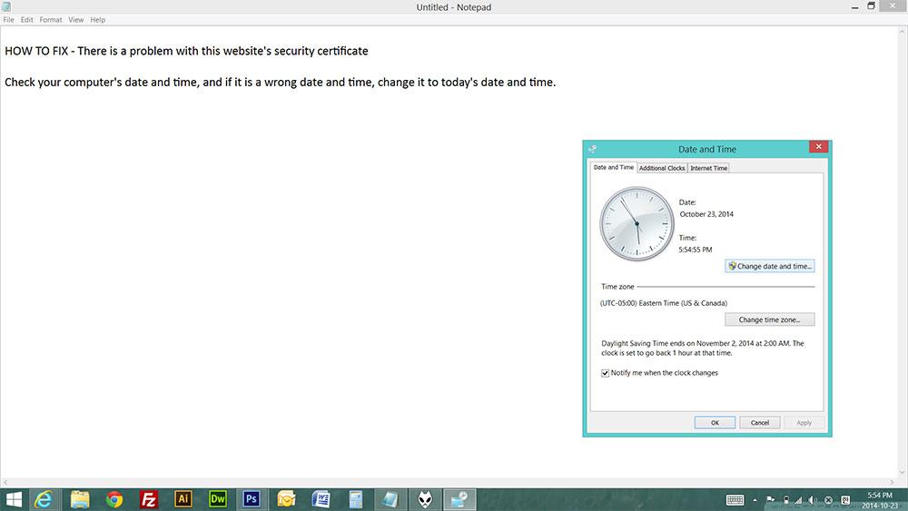 Problem Website Security
