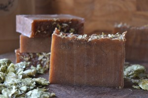 hops honey soap