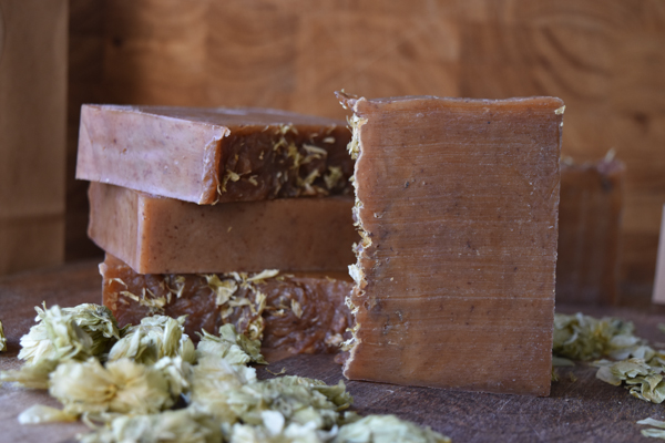 Naked HOPS & HONEY – Unscented, All Natural, Handmade Skin Care