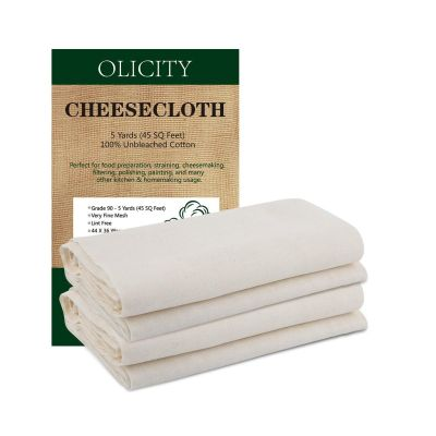 Unbleached Cotton Fabric Ultra Fine Cheesecloth