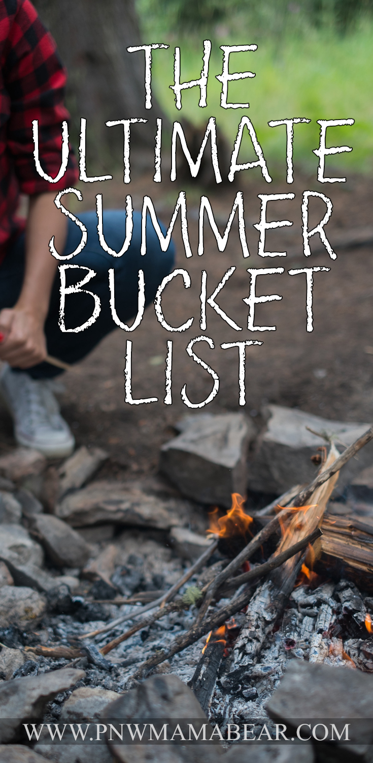 The Ultimate Summer Bucket List! Make the most of Summer with this list of 65+ ways to rock it!