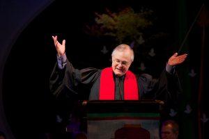 The Rev. Dale Cockrum preaching at #PNWAC16.