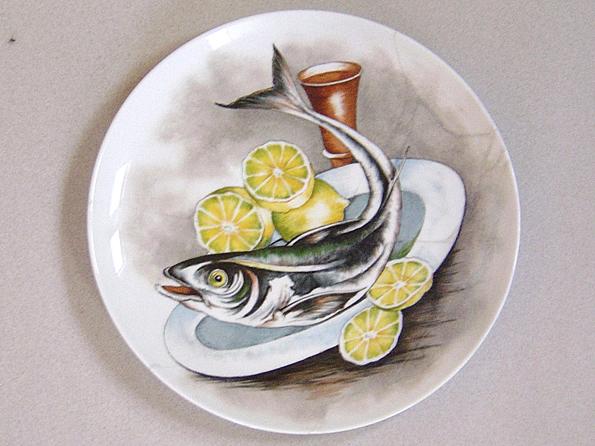 Restauro piatto ceramico 21 cm 03